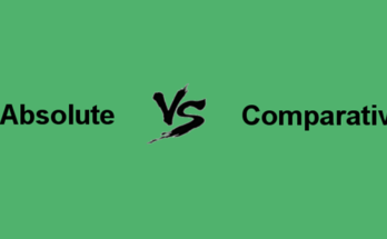 What is the Difference between absolute advantage and comparative advantage?